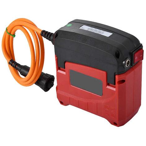 Salida de 42V 1A YATEK Cargador para bater/ía de Tijeras de podar el/éctricas EL46002 y EL46003