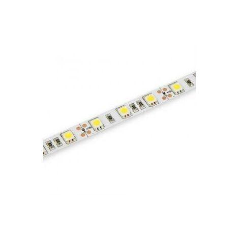 Tira LED 24V 72W 14,4W/m Luz Blanca 6000K IP65 5m