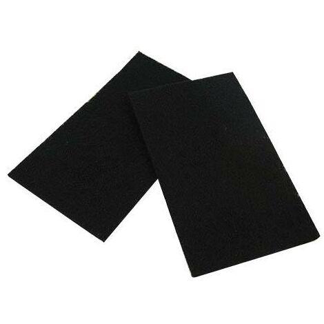 Pack de dos filtros para areneros de gatos, medidas 20 x 15 cm universales.