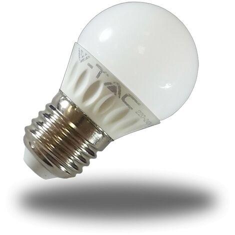 Bombilla LED E27 4W P45 320Lm 160º 6000K Fria