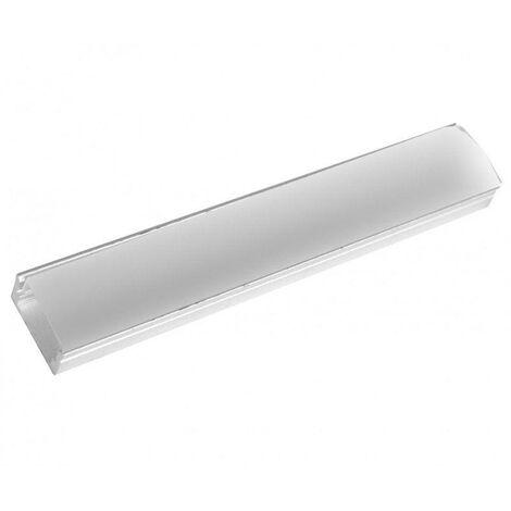 Perfil Aluminio Superficie LED Difusor Opal 2m