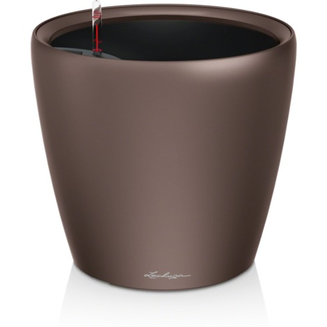 Lechuza Pot Classico LS premium Espresso kit complet Ø 35 / 33 cm