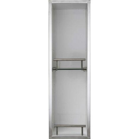Croydex Ottawa 60cm Tall Spinning Bathroom Cabinet