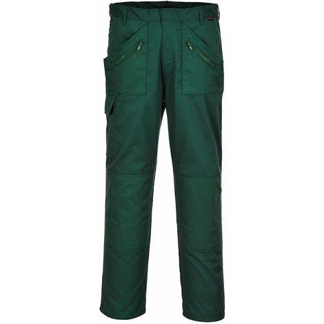 "Cargo Shorts 34 Benchmark T32 Bottle Green 34/"" Workwear Builders work pockets"