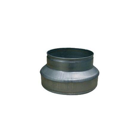 REDUCTEUR ACIER BASIC 125-100MM , conduit de ventilation