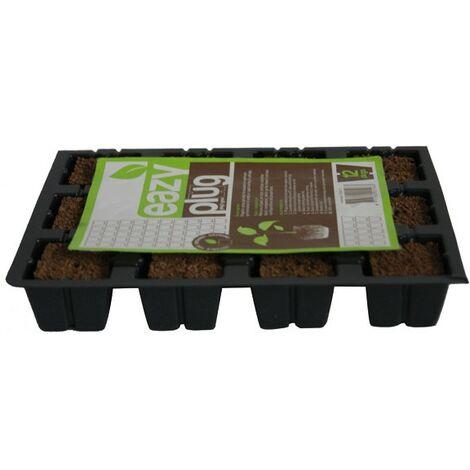 cubes de germination , bouturage Eazy Plug plaque 12 cubes