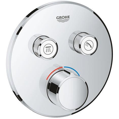 GROHE - Mitigeur encastré 2 sorties Grohe SmartControl