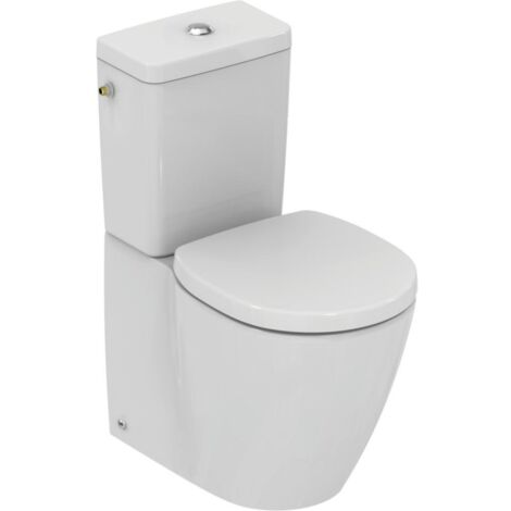 Ideal Standard WC à poser compact Connect space + abattant