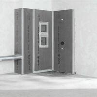 Wedi - Niche pour salle de bain Sanwell, 45,4 x 65,4, Sans revetement