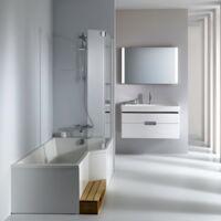 Jacob delafon - Baignoire douche Neo - version droite ou gauche, 150 X 60/80 - version droite