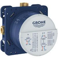 GROHE - Set mitigeur de douche à encastrer Grohtherm Cube Rainshower Allure 230