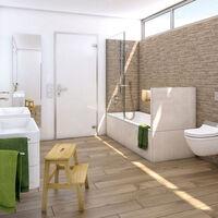 Wedi - Tablier de baignoire en mousse rigide 100% étanche, 77 x 60