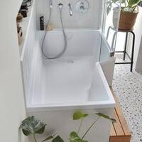 Jacob delafon - Baignoire douche Neo avec pare bain - version droite ou gauche, 150 X 60/80 - version droite