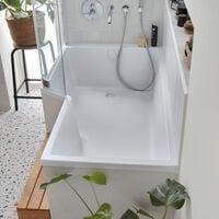 Jacob delafon - Baignoire douche Neo avec pare bain et tablier - version droite ou gauche, 170 X 70/90 - version gauche