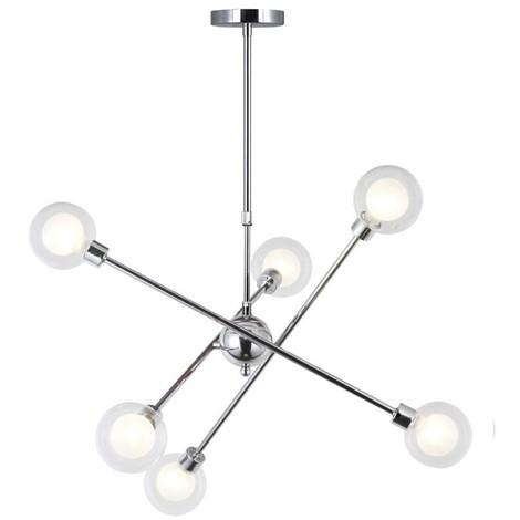 Lámpara de techo Globo (6 luces)