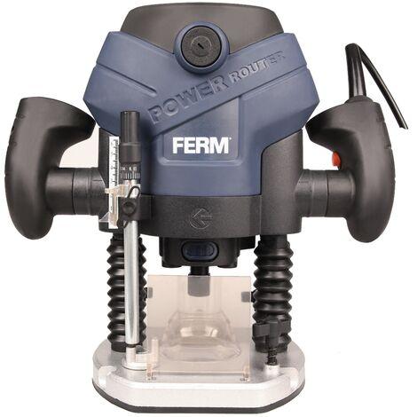 FERM Fresadora de precisión - 1300W - 6-8mm