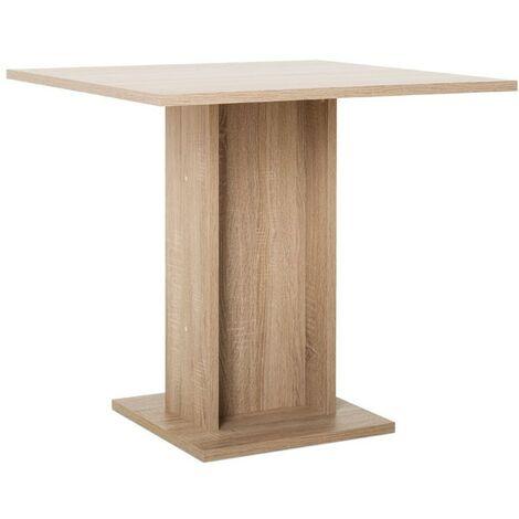 Tavolo Da Pranzo Quadrato Rovere Sonoma 80x80xh 75 Cm