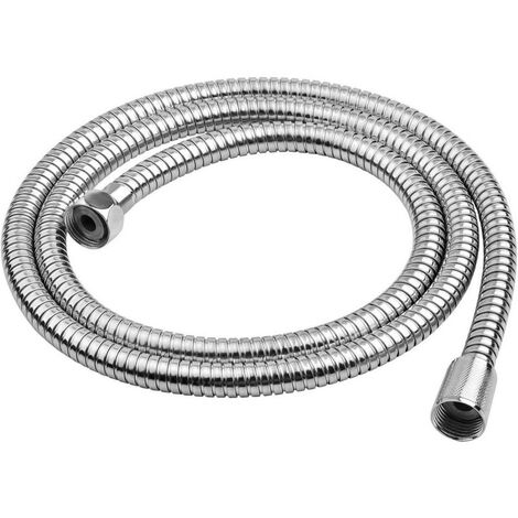 Tubo Universale Cromo Flessibile Doccia Acciaio 1.7 m Ibergrif M20104