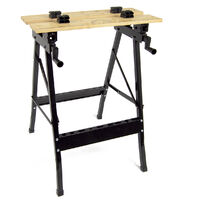 Wolf 'Solid Wood Top' Portable Workbench