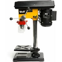 """Wolf Engineer's 9 Speed Pillar Drill with 2.5"""" Vice"""