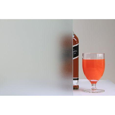 Film décoratif vitrostatique Sable - 150 x 45 cm - Transparent - Transparent