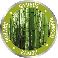 Etagère de salle de bain en bambou 3 Tiroirs - H. 96 cm - 44 x 34 x 96 - Gris