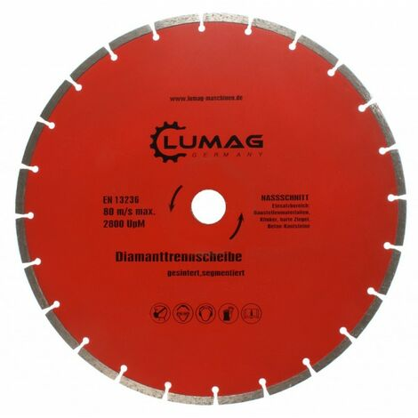 Lumag DS350S Segmented Diamond Blade