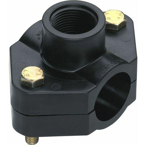 2 colliers de prise en charge Ø63mm pour sonde ph d'injection
