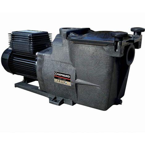 Pompe de filtration piscine super pump hayward 3/4 cv mono 11 m³/h 1''1/2