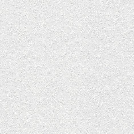 Papier peint intissé 141118 Meistervlies 2020 - Papier peint à peindre Blanc - 10,05 x 0,53 m