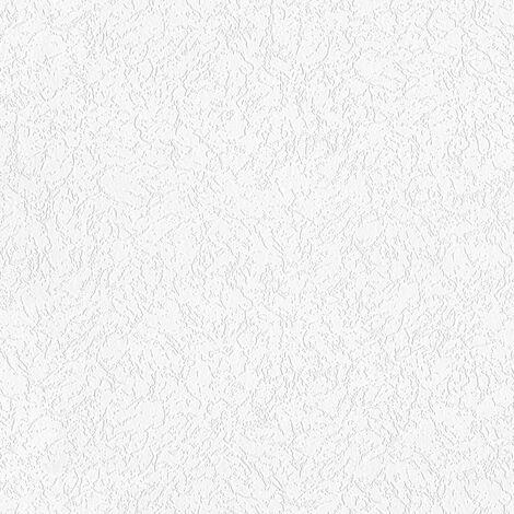 Papier peint intissé 929518 Meistervlies 2020 - Papier peint à peindre Blanc - 10,05 x 0,53 m