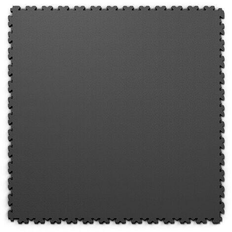 """Dalle PVC garage Fortelock XL 2230 """"Skin Graphite"""" - 65,3 x 65,3 cm"""