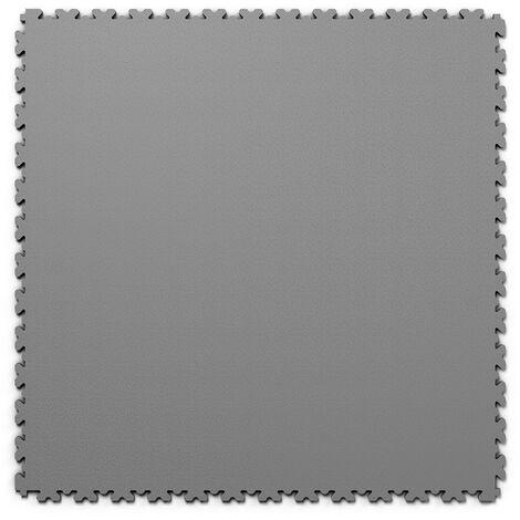 "Dalle PVC garage Fortelock XL 2230 ""Skin Gris"" - 65,3 x 65,3 cm"