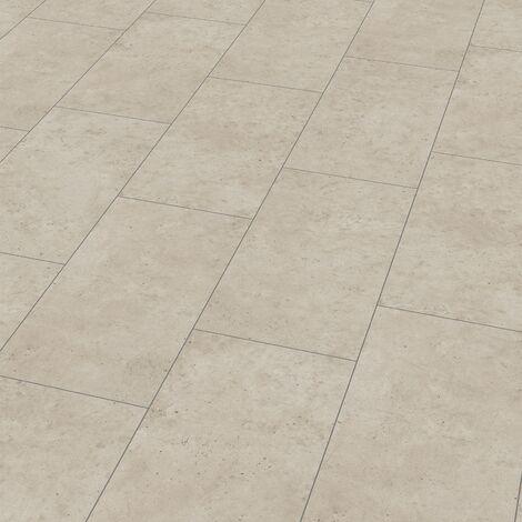 """Wineo 400 Stone   Dalle PVC clipsable """"Patience Concrete Pure"""" - 60 x 31,6 cm"""