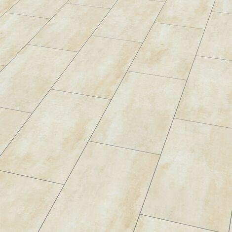 "Wineo 400 Stone   Dalle PVC clipsable hybride ""Harmony Stone Sandy"" - 60,1 x 31 cm"