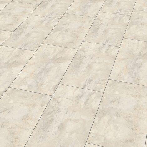 "Wineo 400 Stone   Dalle PVC clipsable hybride ""Magic Stone Cloudy"" - 60,1 x 31 cm"