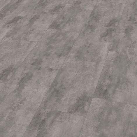 "Wineo 400 Stone   Dalle PVC clipsable hybride ""Glamour Concrete Modern"" - 60,1 x 31 cm"