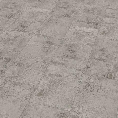 """Wineo 400 Stone   Dalle PVC clipsable hybride """"Fairytale Stone Pale"""" - 60,1 x 31 cm"""