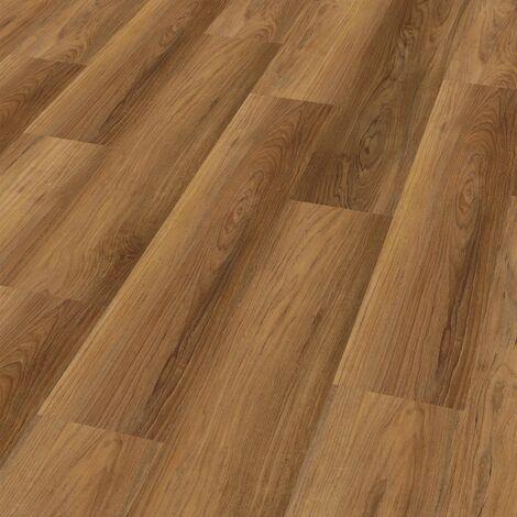 """Wineo 400 Wood   Lame PVC clipsable """"Romance Oak Brilliant"""" - 121,2 x 18,7 cm"""