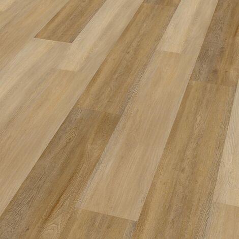 """Wineo 400 Wood   Lame PVC clipsable """"Eternity Oak Brown"""" - 121,2 x 18,7 cm"""