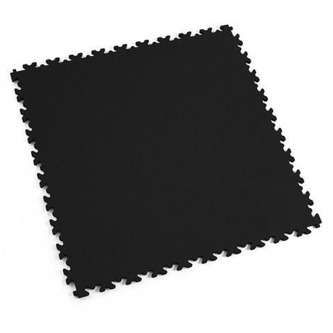 """Dalle PVC garage Fortelock Light 2060 """"Skin Noir"""" - 50 x 50 cm (4 dalles = 1 m²)"""