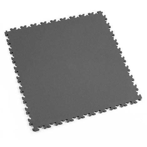 "Dalle PVC garage Fortelock Industry 2020 ""Skin Graphite"" - 50 x 50 cm (4 dalles = 1 m²)"