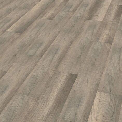 "Wineo 1000 Wood | Lame organique clipsable ""Calistoga Grey"" - 19,5 x 129,5 cm"