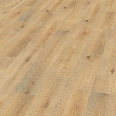 "Wineo 1000 Wood | Lame organique clipsable ""Island Oak Honey"" - 19,5 x 129,5 cm"