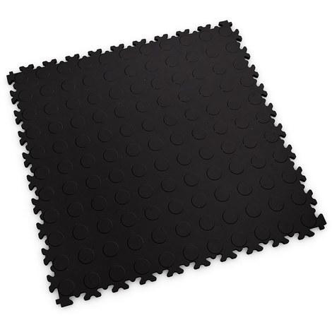 """Dalle emboîtable pour garage Fortelock 2040 ECO """"Pastille Noir"""" - 50 x 50 cm (4 dalles = 1 m²)"""