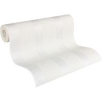 Papier peint intissé 957115 Meistervlies 2020 - Papier peint à peindre Blanc - 10,05 x 0,53 m
