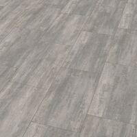 "Wineo 400 Stone | Dalle PVC clipsable ""Courage Stone Grey"" - 60 x 31,6 cm"