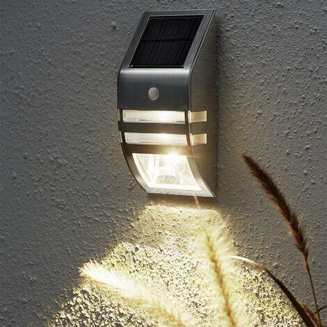 Applique murale solaire WALLY avec détecteur de mouvement