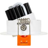 Downlight LED 3W COB Orientabile Rotondo (UGR19) Bianco Foro Ø 55 mm CRI92 Expert Color Bianco Freddo 6000K