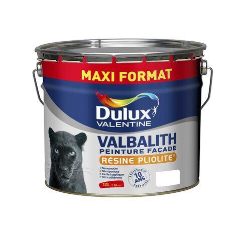 Peinture Façade Valbalith Mat Blanc 12 L - Dulux Valentine